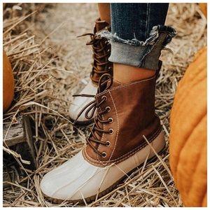 BEST SELLER✨ New beige duck boots